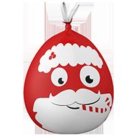Sacs-poubelle Frimoussac® Père Noël 50L Alfapac