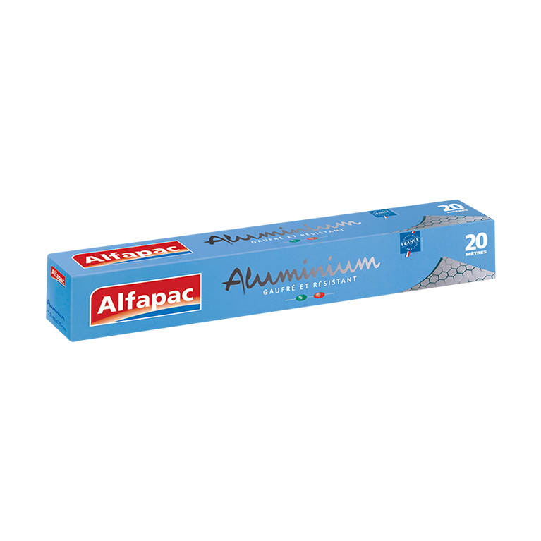 Aluminium Gaufré Alfapac