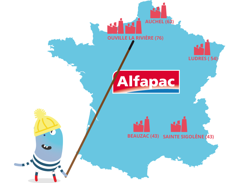 Alfapac s'engage à maintenir l'emploi en France