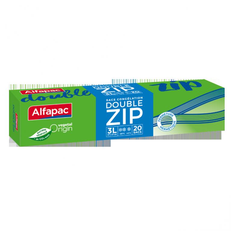 Sacs congélation | Double Zip