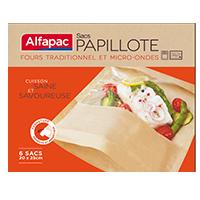 Alfapac Sacs papillote – fours traditionnel et micro-ondes