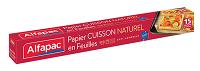 Papier Cuisson Naturel en Feuilles Alfapac