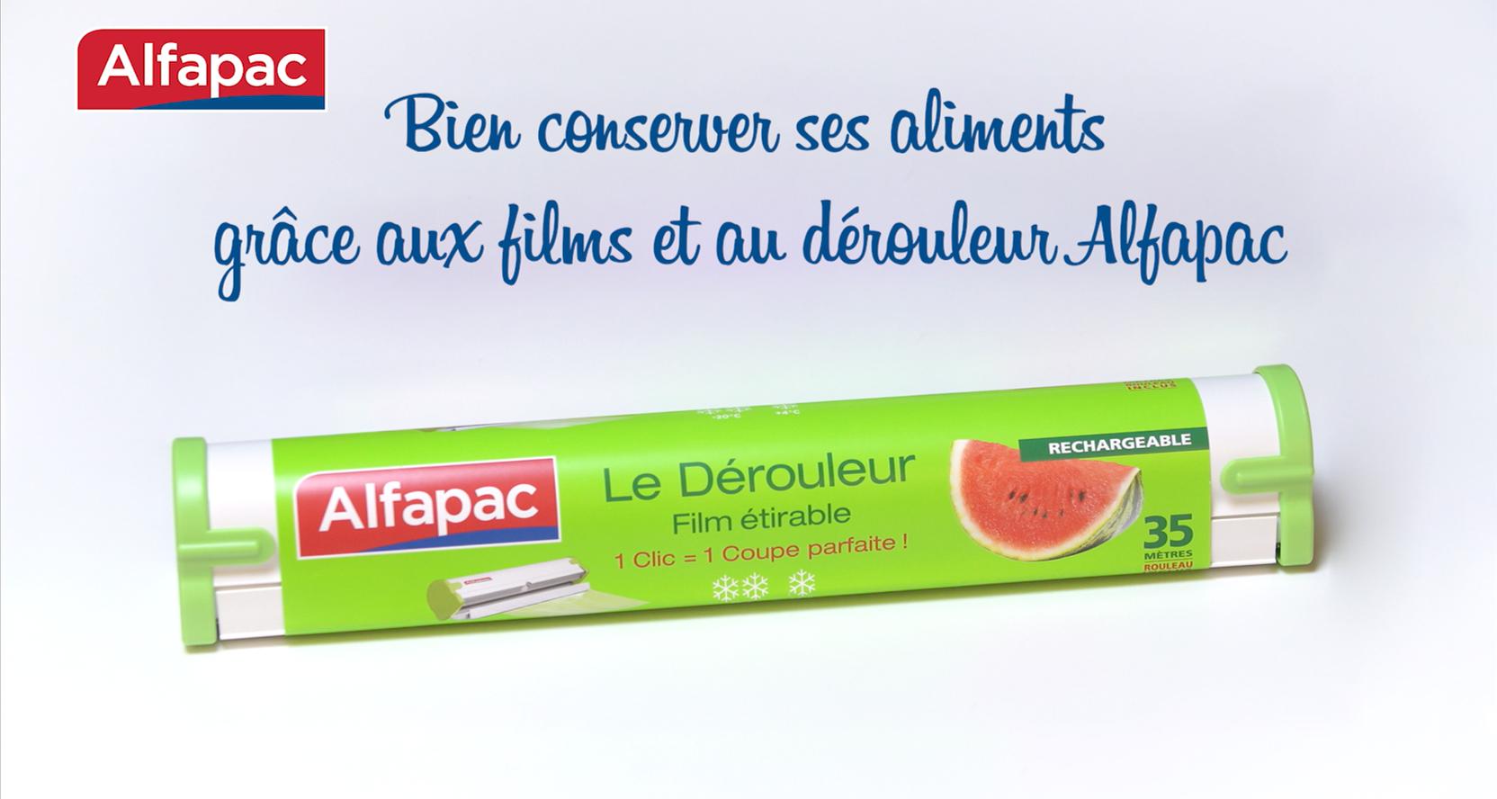 Bien conserver ses aliments grâce aux films et au dérouleur Alfapac