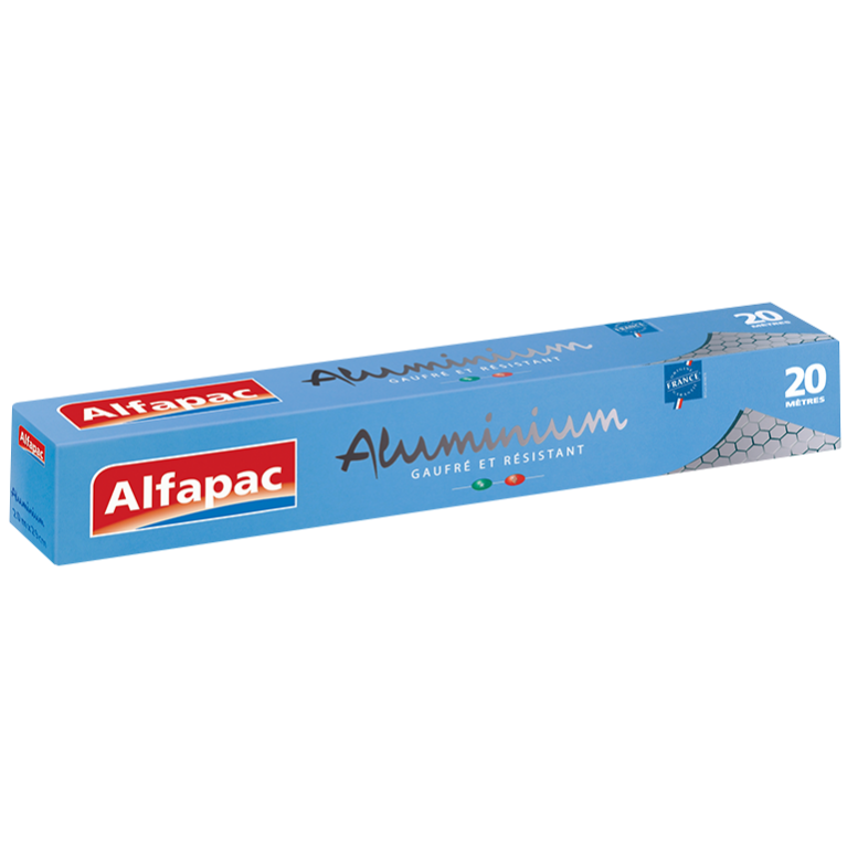Aluminium gaufré